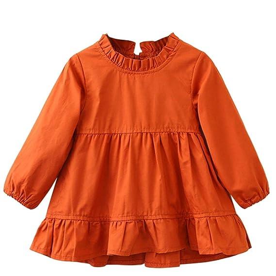 K-youth® ropa bebe niña invierno ropa de nina en oferta manga larga tutú