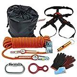 sanheng fire Outdoor Rock Climbing Escape Safety Survival Suit First aid kit(7-piece)