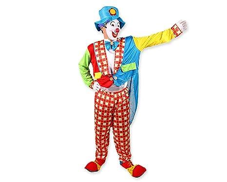 DSstyles Costumi di Halloween Costume divertente del pagliaccio per il  vestito operato da partito con il 5ee746520bcf