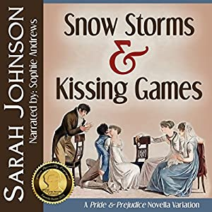 Snow Storms & Kissing Games Audiobook