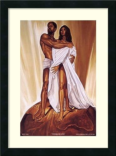 Framed Wall Art Print Power of Love