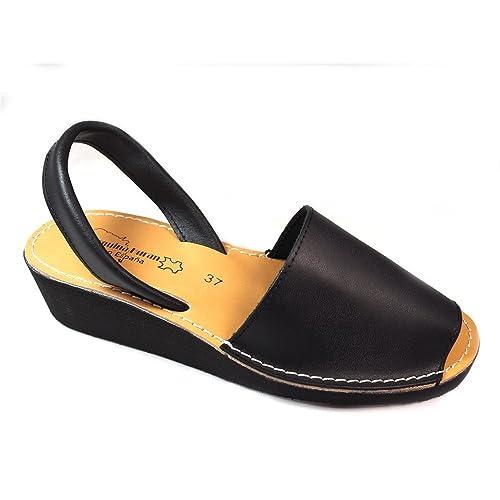 Sandalias Negro Sandalias Negro Negro Menorquinas Menorquinas Cuña Sandalias Cuña Menorquinas Cuña SUpGqMzV