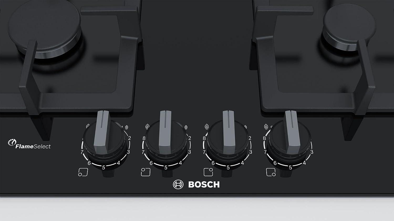 Bosch Serie 6 PPP6A6B20 hobs Negro Integrado Encimera de gas ...