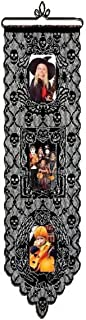 product image for Heritage Lace Halloween 12-Inch by 38-Inch Spooky Pictures Wall Hanging, Black