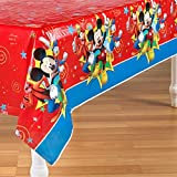 Mickey Mouse 'Fun and Friends' Plastic Table Cover (1ct)