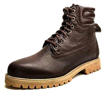 Amazon com | Genuine Leather Premium Lace-up Boot | Chukka