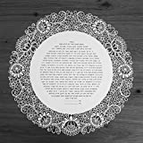 The Lace Ring Ketubah