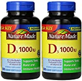 Nature Made® Vitamin D3 1000 IU, 600 Softgels Review
