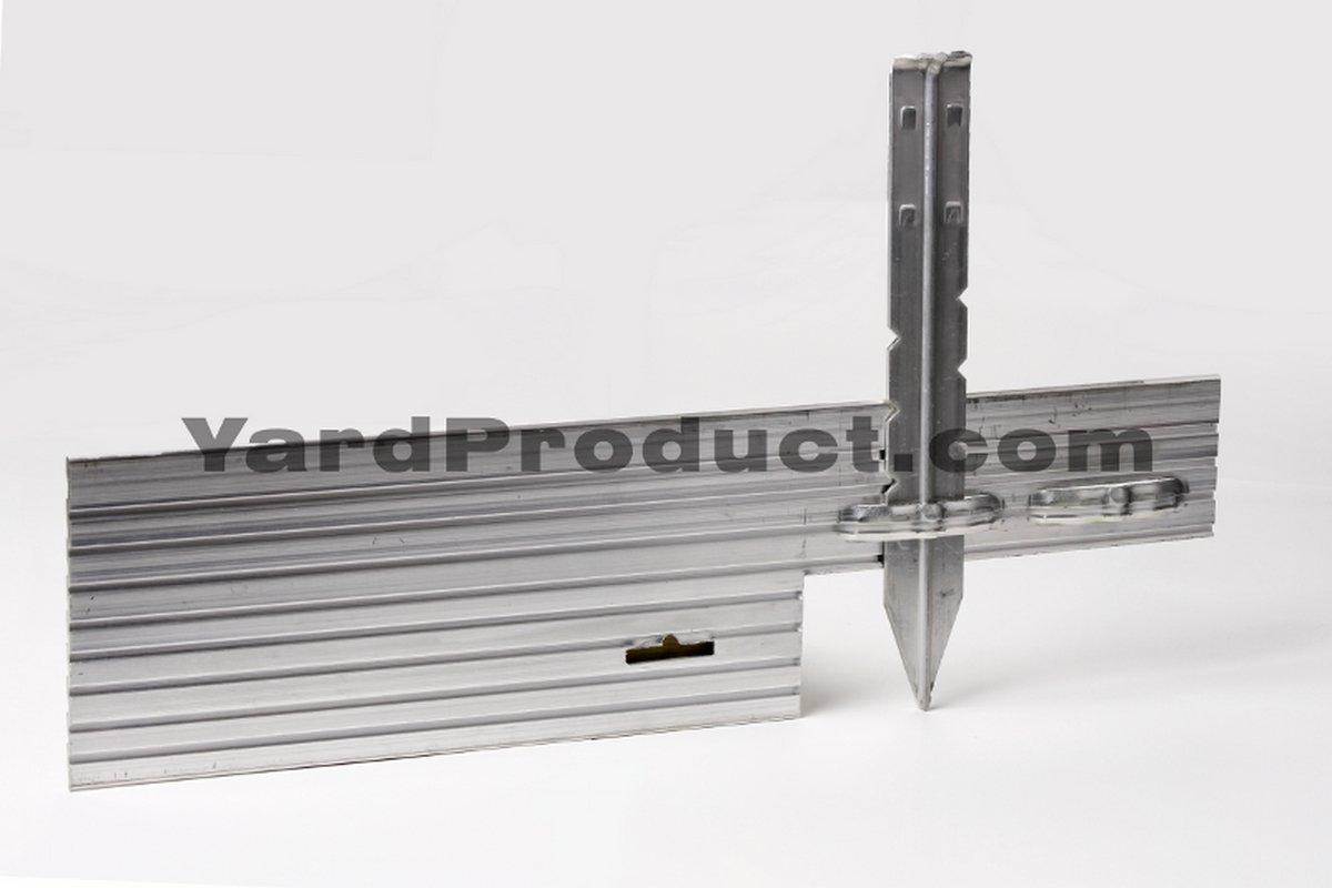 PRO Aluminum Landscape Edging - 1/8'' X 4'' X 8' (120' per box) - Mill Finish by Sure-Loc (Image #2)