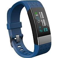 YoYoFit Orologio Fitness Activity Tracker, Pedometro Contapassi Touch Screen Impermeabile Smart Watch Compatibile con iOS Android a Calorie Bracciale Uomo Donna Bambini