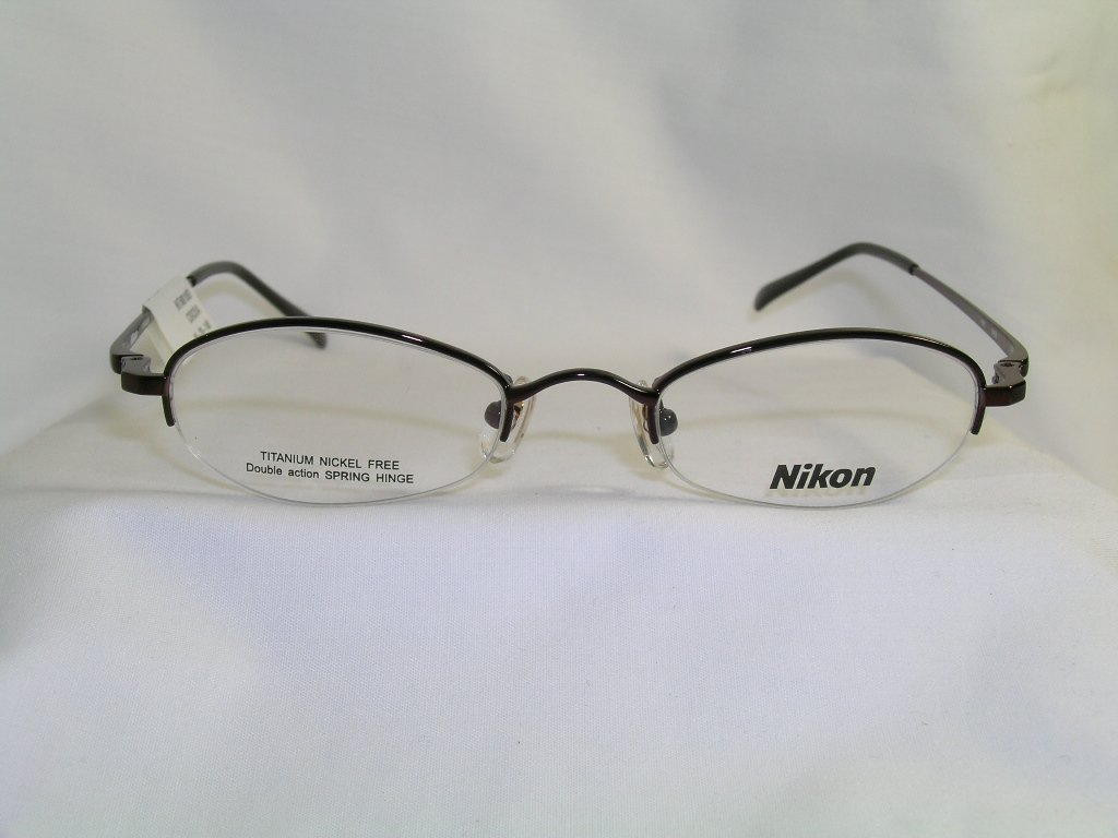 Amazon.com: New Nikon Eyeglasses with Case and Cloth Model Nt6010 ...