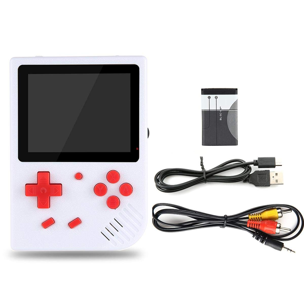 LAYOPO Retro Mini Handheld Video Game Console Gameboy Built-in 600 Classic Games Gift by LAYOPO (Image #7)