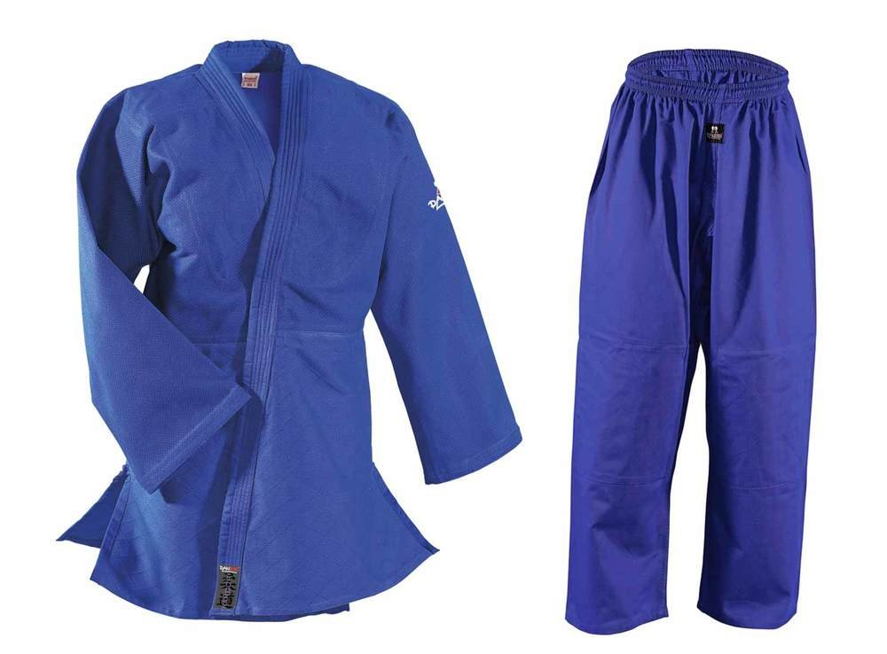 DanRho Judogi Randori EM EM Randori in blau 2d4d12