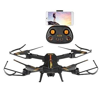 Elektrisches Spielzeug LBLA Faltbar Drohne mit Kamera HD 720P 120 ° Weitwinkel WiFi FPV 2.4GHz RC