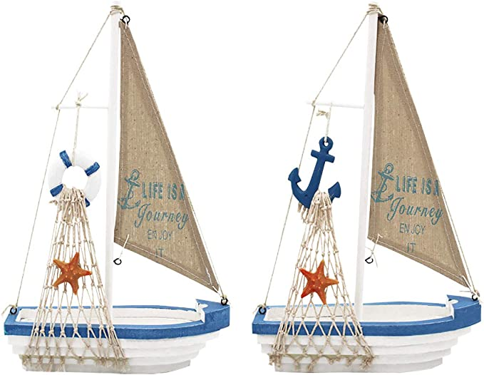 Gift Christmas Decorations New Year Decoration Sailboat Decorative Sailboat Sailboat Ornament Bronze Sailboat Personalized Year
