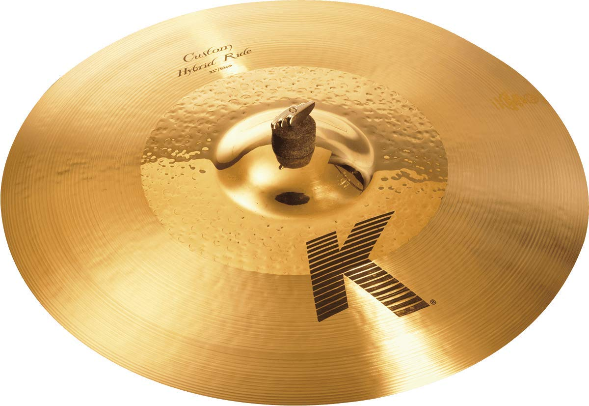 Zildjian K Custom 21'' Hybrid Ride Cymbal by Avedis Zildjian Company