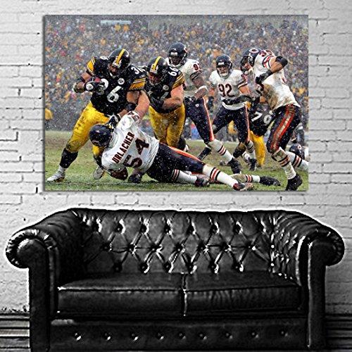 #02 Poster Football Jerome Bettis Urlacher 40x60 inch (100x150 cm) on 8mil Paper