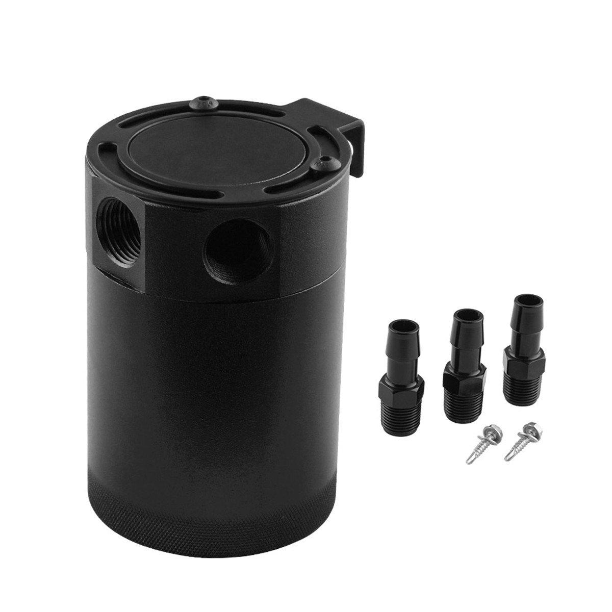 WINOMO 3-Port Auto Ö l Catch Can Tank Aluminium Luft Ö l Separator (zufä llige Farbe) 5704K118NFHX4GB