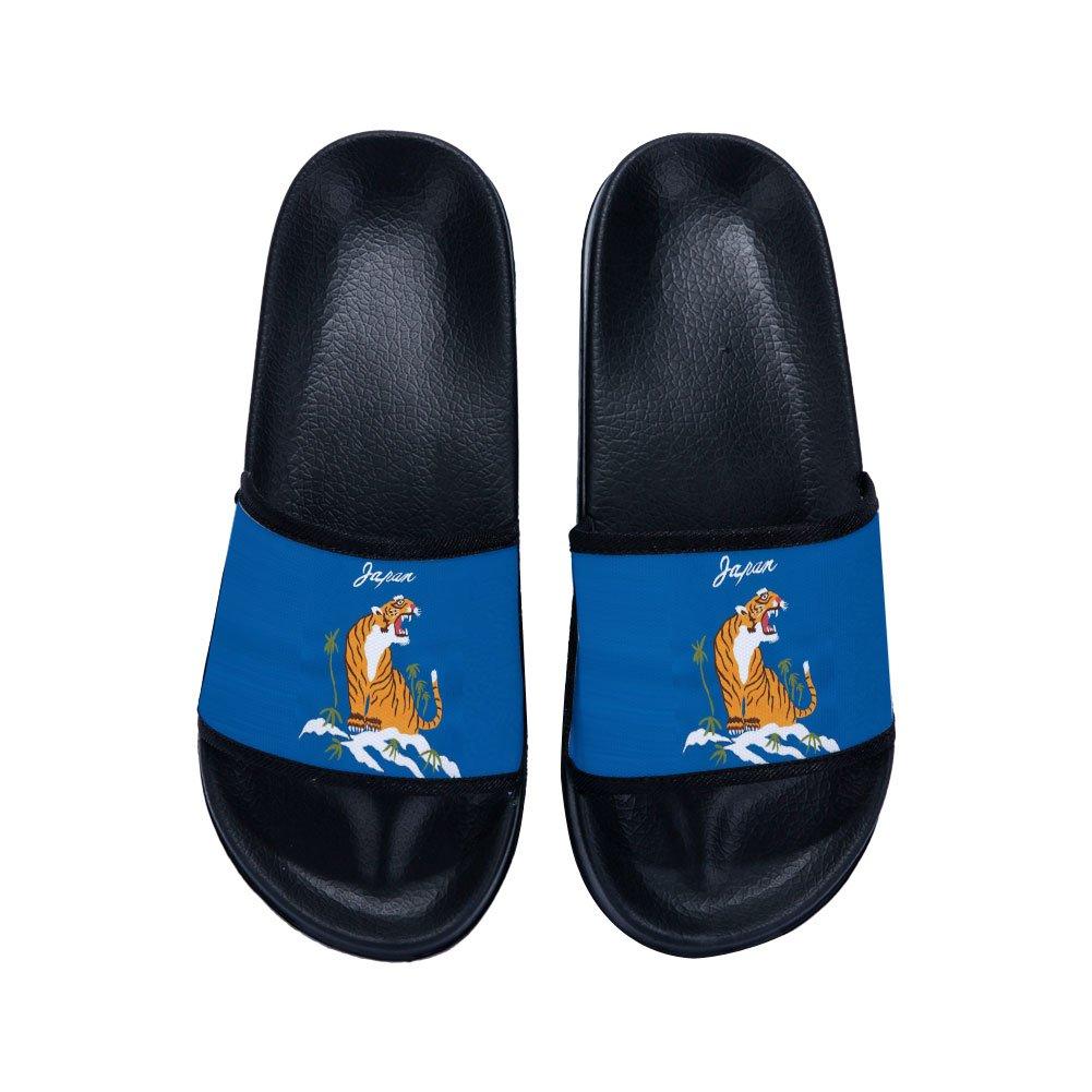 Ron Kite Slide Sandals Tiger for Boys Girls Indoor Home Bath Shower Slippers