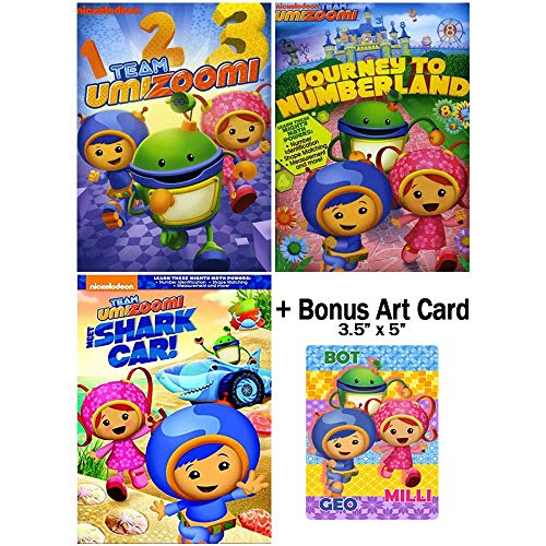 (Team Umizoomi: TV Series Collection - Episodes + Special Features + Interactive Games + Bonus Art)