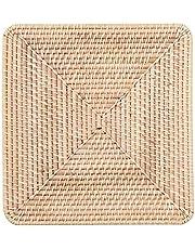 Muji Stackable Square Rattan Basket Lid