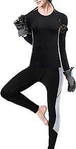 visionreast Men's Ultra Soft Thermal Underwear Set Warm Base Layers Long