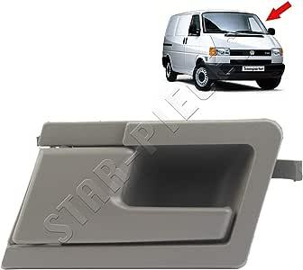 Maneta de puerta interior delantera izquierda gris para lado conductor para Transporter T4 de 1990 a 2003: Amazon.es: Coche y moto
