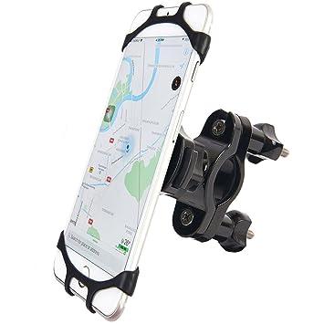 Bicicleta Soporte, anti – Shake 360 Girar soporte universal de GPS para bicicletas de