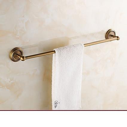 Antique Towel Bar/European All Copper Towel Rack/Bathroom Retro Bathroom  Accessories