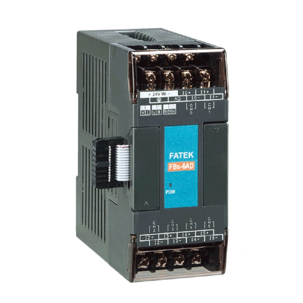 Fatek PLC AIO Right Side Expansion Modules, FBs-6AD