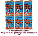 Chicken Chips Stock Up & Save! Healthy & Delicious Treats for all your Fur Kids! 4oz Doggie in Resealable Bags – 6 Pack Review