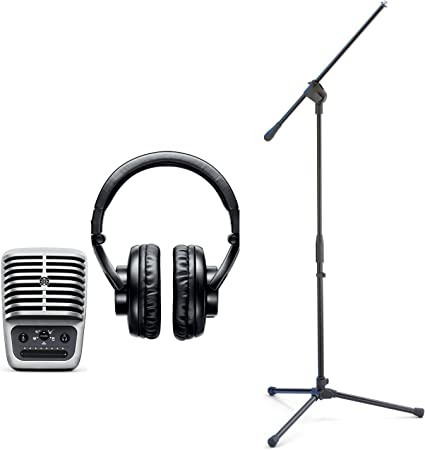 Pro Performance Dual ear Headset Omnidirectional Condenser Microphones for SHURE
