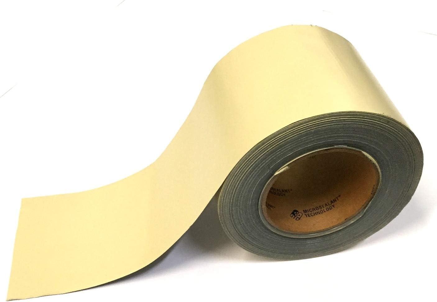 "EternaBond TAN Mobile Home RV Rubber Roof Repair Tape Sealant 4"" x 10' - 10 Foot, 10 Feet"