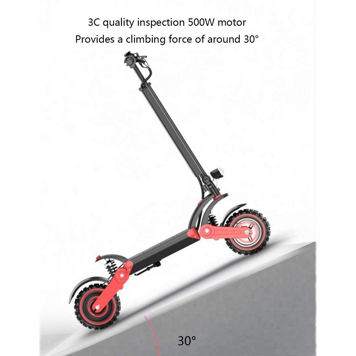 Dapang Scooter eléctrico - Plegable portátil, 1800lbs-doble ...