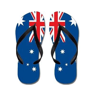 7a61062b274c2 CafePress - Australia Flag - Flip Flops