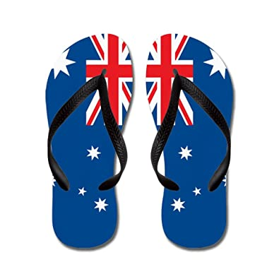 1b0a8a4c4 CafePress - Australia Flag - Flip Flops