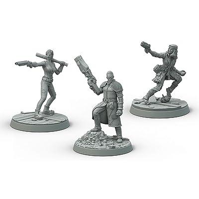 Modiphius Fallout: Wasteland Warfare: Survivors Boston Companions: Toys & Games