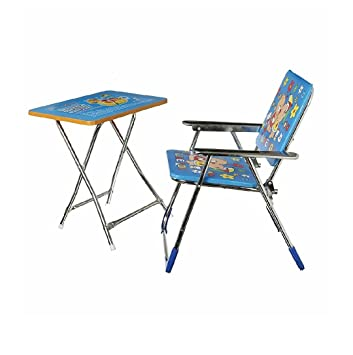 BABA JI STUDY TABLE U0026 CHAIR (BLUE)