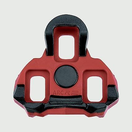 6b570fee00e Amazon.com   Exustar ARC R2 LOOK Keo Cleats 6 Degree Red   Sports ...