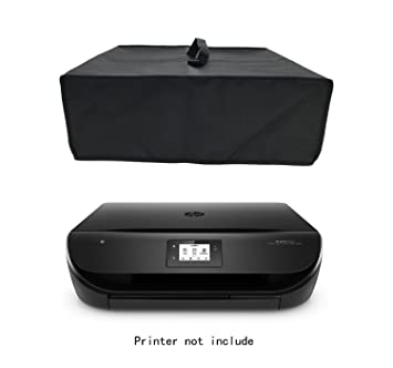 Wanty Black Antistatic Water-proof Dust-proof Nylon Fabric Printer Cover Case Protector for HP Envy 4520 / 4500 / 4502 / 4525 / 5530 / Epson WorkForce ...