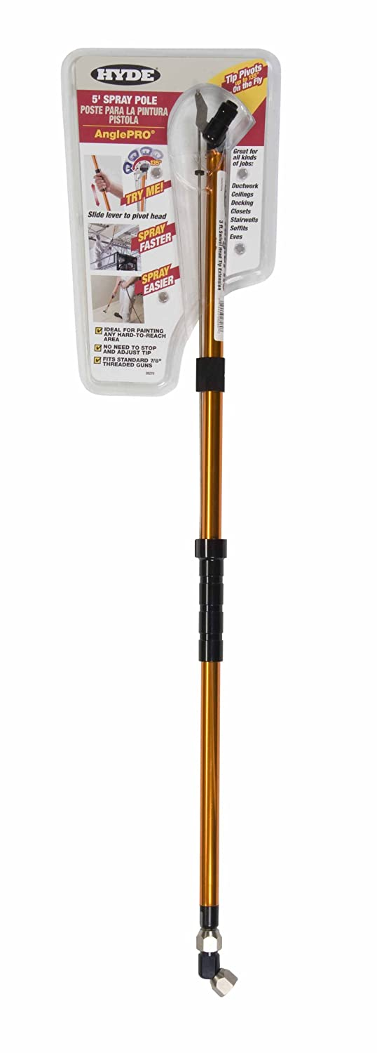 5-Feet Hyde Tools 28270 AnglePro Spray Tip Extension