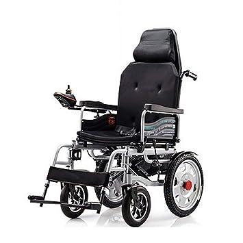 L-Life Silla de ruedas eléctrica, silla de ruedas para discapacitados silla de ruedas