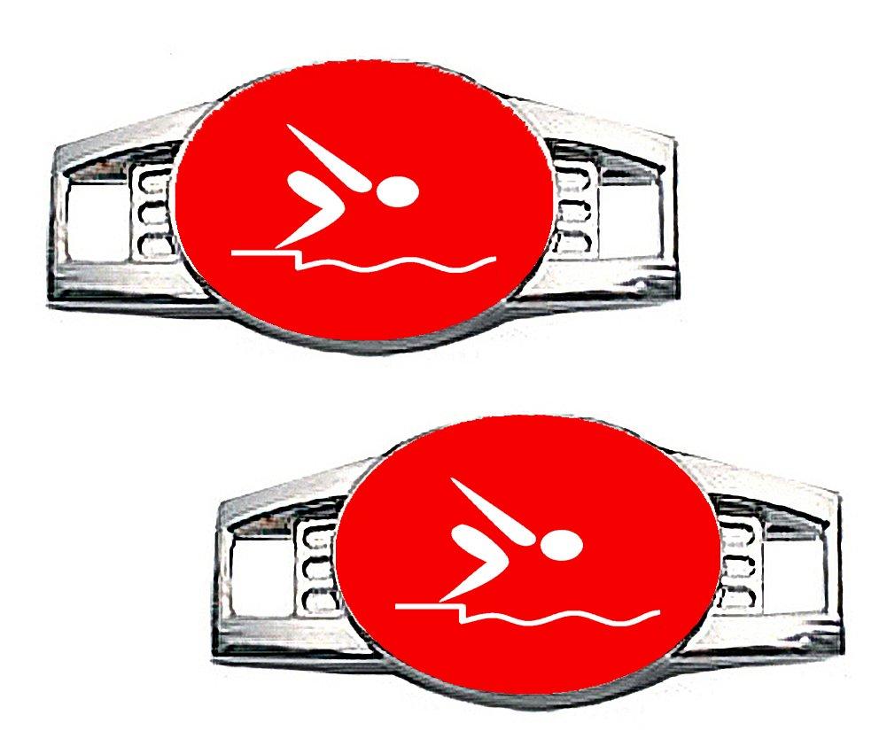 水泳チャーム – パラコード/ Shoe水泳チャーム( 7色から選択)  レッド B00QSDZOEA