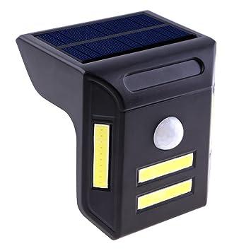 Starnearby PIR 4COB - Foco solar con sensor de movimiento, 40 LED, ángulo de