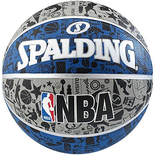 9 opinioni per Spalding, Pallone NBA Grafitti Outdoor,