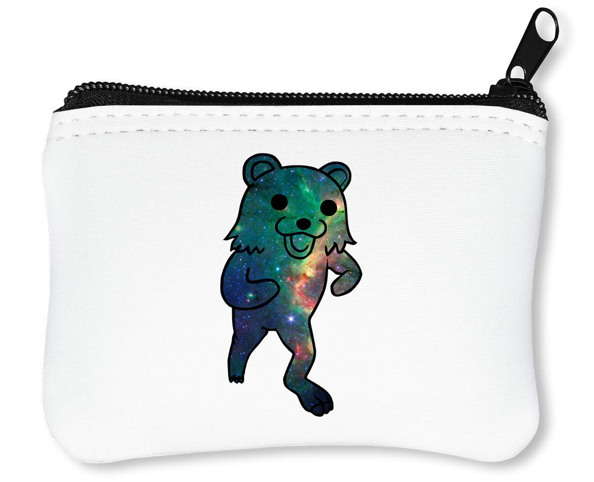 Cosmic Pedobear Funny Meme Graphic Billetera con Cremallera Monedero Caratera: Amazon.es: Equipaje