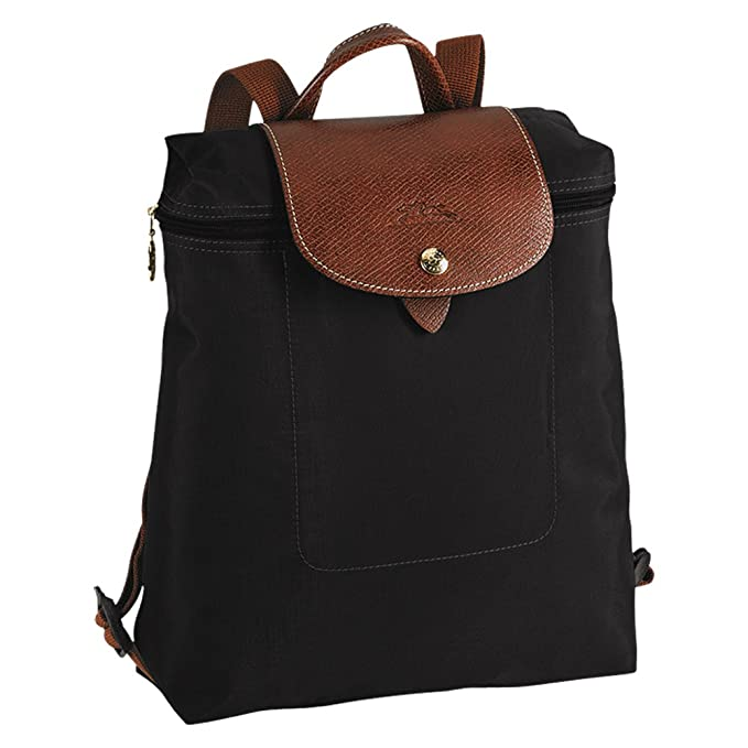 Longchanp Le Pliage Backpack Black