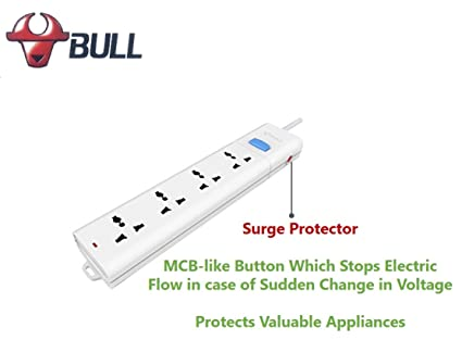 Superb Bull 4 Socket 1 Switch 1 5 M Wire Extension Board With Circuit Wiring Digital Resources Hetepmognl