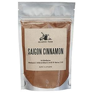 True Saigon Vietnamese Cinnamon Powder by Collected Foods - 2 oz (1 Package)
