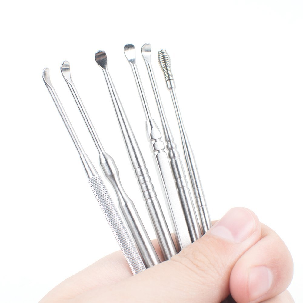Zinnor 6 Pcs Ear Wax Remover Ear Pick Set Ear Curette Earwax Removal Kit Clean Tool with Storage Box by Zinnor (Image #5)